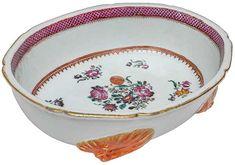 """""""Bowl"""" para ostras em porcelana Companhia das Índias de.."""