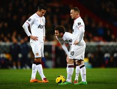 RvP, Rooney, and Mata