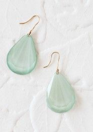 mint facets teardrop earrings and other inexpensive, cute jewelry