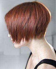 Back Haircut Of Short View Bob Hairstyles | asymmetric layered bob a mid length bob gets a kick