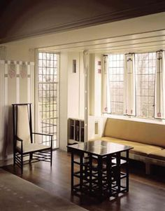 Hill House - Charles Rennie Mackintosh, Architect. Helensburgh, Scotland. 1902-4