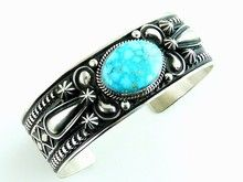 Large Size & Mens Bracelets - Mens Turquoise Bracelet, Silver Bracelets, Turquoise Jewelry | Southwest Silver Gallery