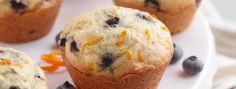 Blueberry Orange Muffins | These muffins are must-bakes for blueberry season. With a sweet orange twist, they taste just like a beautiful spring day.