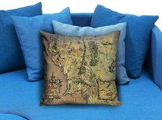 lord of the rings middle earth map  These soft pillowcase made of 50% cotton, 50% polyester.  It would be perfect to decorate your home by using our super soft pillow cases on sofa, chair, bench or bed.  Customizable pillow case is both comfortable and durable, improving the quality of your sleep with these comfortable pillow case, take it home now!  Custom Zippered Pillow Cases available in 7 different size (16″x16″, 18″x18″, 20″x20″, 16″x24″, 20″x26″, 20″x30″, 20″x36″)