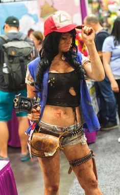 Creative Ash Ketchum Cosplay at San Diego Comic Con 2015 Videl Cosplay, Cosplay Anime, Epic Cosplay, Cosplay Diy, Amazing Cosplay, Cosplay Outfits, Cosplay Girls, Female Cosplay, Avatar Cosplay