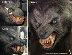 American Werewolf in London - Rick Backer Makeup restoration