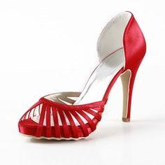 Chaussures de mariage - $77.99 - Pour femme Satiné Talon cône Bout ouvert Plateforme Sandales  http://www.dressfirst.fr/Pour-Femme-Satine-Talon-Cone-Bout-Ouvert-Plateforme-Sandales-047016562-g16562