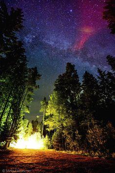 Light from the Milky Wayin Germany