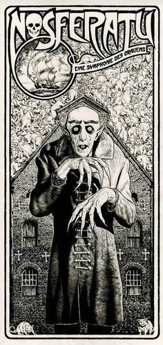 Nosferatu Illustration By Chris Weston