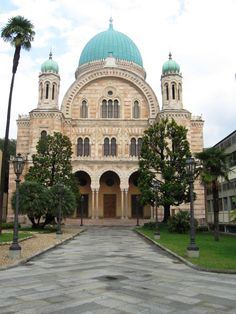 Great Synagogue of Florence or Tempio Maggiore, Florence, Italy.