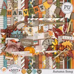 Freebie Friday: Autumn Song – Part 5   [ One Velvet Morning ]