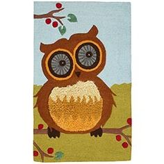 Shiny Eyes Owl Rug | review | Kaboodle