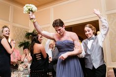 Um, hilarious. Way to go, bridesmaid/groomsman.  A CUP OF JO: 10 unforgettable wedding moments