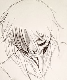 A sketch of Jeff the Killer I did a while back... Art (c) me. Character not mine.