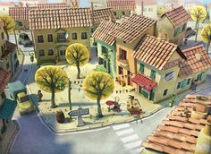 3d illustration for a childbook.