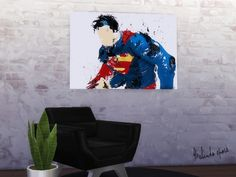 New poster perfect to decorate the walls of the shops. Found in TSR Category 'Sims 4 Painting and Poster Recolors' Sims 4 Cas, Sims 1, Superman, Batman, Coffee Poster, New Poster, Art Drawings, Superhero, Cute