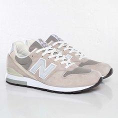 New Balance 996 Chaussures De Ville Pour Femme Gris MRL996AG