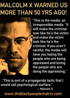 Malcolm X quote on media. Great Quotes, Me Quotes, Inspirational Quotes, Zodiac Quotes, People Quotes, Motivational, History Facts, Thought Provoking, In This World