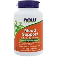 Now Foods, Mood Support with St. John's Wort, 90 Veg Capsules - Ervas e Homeopatia - Pantothenic Acid, Sports Food, Vitamins For Women, Healthy Food Delivery, Herbal Extracts, Sports Nutrition, Nutrition Products, Health Products, Folic Acid