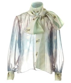 SUPERSWEET x moumi Bow Blouse