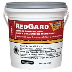 Custom Building Products RedGard 1 Gal Waterproofing Crack Prevention Membrane for sale online Mosaic Diy, Mosaic Garden, Mosaic Crafts, Mosaic Projects, Mosaic Glass, Mosaic Tiles, Fused Glass, Stained Glass, Glass Art