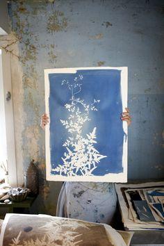 Jennifer Causey Photography. Rinne Allen in her studio.