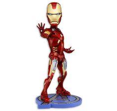 Iron Man Wackelfigur. Hier bei www.closeup.de