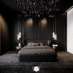 """CovetED Magazine on Instagram: """"We are speechless. This bedroom design is so magnificent that is really hard for us to find words to describe it. This monochromatic tone…"""" Modern Entryway, Modern Bedroom, Bedroom Decor, Bedroom Furniture, Bedroom Ideas, Furniture Design, Round Beds, Dream House Interior, Luxurious Bedrooms"""