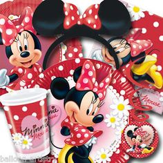Classic Minnie Mouse Party Supplies