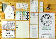 Creative DIY solutions toot the horn of artists's cooperative Transit in this locomotion influenced comprehensive identity package.  — KELLY CREE
