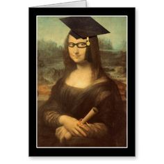 It's #MonaLisa 's  #Graduation Day! Congrats to the Grad! #SpoofingTheArts #Just4Grad #Gravityx9 -