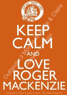 Keep calm...from Outlander, il Mondo di Jamie & Claire - The Italian Fangroup
