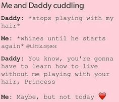 Read 14 from the story DDLG pictures 🌌 by eViSyKo (Paris Sykes) with reads. Daddys Girl Quotes, Daddy's Little Girl Quotes, Little Things Quotes, Daddys Little Princess, Daddys Little Girls, Daddy Rules, Dd Lg Rules, Ddlg Quotes, Submarine Quotes