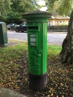 Irish post box from British rule times Post Box, Irish, Boxes, Outdoor Decor, Crates, Irish Language, Mailbox, Box, Ireland