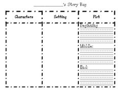 Free! Want a good way to check you're students comprehension after they read a story