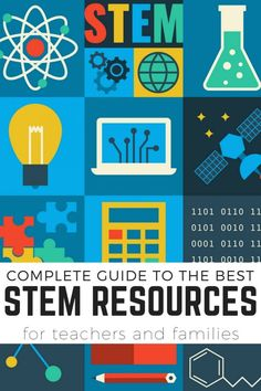 The Best STEM Resources: An A-Z Guide To Understanding STEM Activities STEM resources for kids and useful information for teachers and families to better understand STEM at home or in the classroom Stem Science, Teaching Science, Teaching Ideas, Summer Science, Kindergarten Science, Physical Science, Science Classroom, Science Education, Earth Science