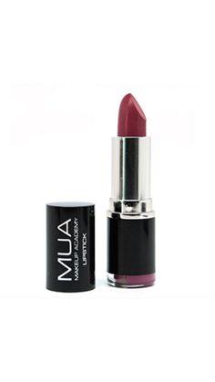 Buy MUA Lipstick online, here in Australia! Deep Red Lipsticks, Best Red Lipstick, Mua Lipstick, Lipstick Shades, Mua Makeup Academy, Pink Lip Gloss, Matte Lips, Lip Makeup, Makeup Tips