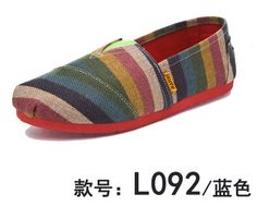Spring and summer women's canvas shoes breathable mary slip on loafers color block lazy shoes woman comfortable flats L056-inWomen's Casual Shoes from Shoes on Aliexpress.com | Alibaba Group