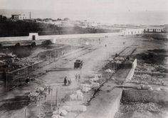 Construcción del Paseo de Almería (vista del boulevar a finales del siglo XIX)