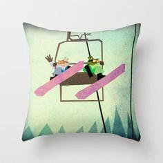 Happy Birthday Unicorn Throw Pillow