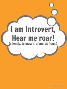 I am Introvert by RdwnggrlDesigns