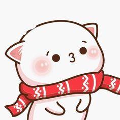 Images Kawaii, Cute Cartoon Images, Cute Love Cartoons, Cute Cartoon Wallpapers, Animes Wallpapers, Cute Panda Wallpaper, Cute Couple Wallpaper, Cute Bear Drawings, Cute Kawaii Drawings