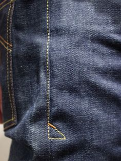 Eat Dust Clothing Jeans Fit 73 Raw Denim - Denim Heads - Only The Best
