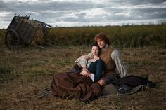 Jamie and Claire Randall Fraser | Outlander – Photoshoot pour TV Guide Magazine