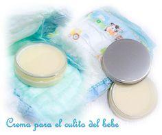 Crema casera para el culito del bebé