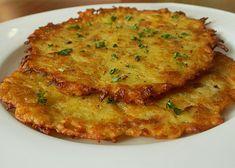 Hanušky (bramboráky z Českého ráje) recept - TopRecepty.cz Home Recipes, Vegan Recipes, Czech Recipes, Food 52, Quiche, Pancakes, Food And Drink, Pizza, Treats
