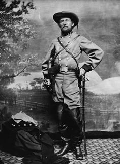 COL John S. Mosby. Confederate States of America.