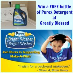 Greatly Blessed: Join @Purex in Supporting Make-A-Wish - #GIVEAWAY