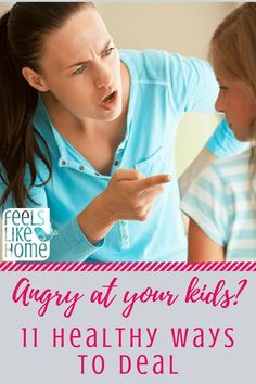 Angry at your kids? 11 healthy ways to deal with mom anger. Parenting is hard. Wisdom, tips, ideas, and thoughts on why I am angry all the time and how to calm down. Anger management for parents.