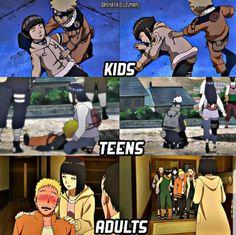 Naruto and Hinata Sasuke, Naruto E Hinata, Naruto Y Boruto, Naruto Cute, Hinata Hyuga, Naruhina, Wallpaper Naruto Shippuden, Naruto Wallpaper, Manga